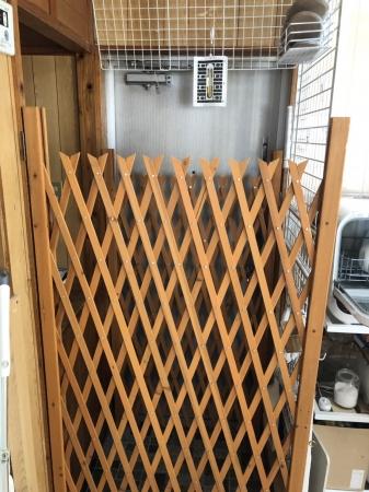 玄関2重扉使用